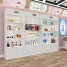 展示櫃-歐式展示櫃化妝品櫃美容展示架陳列櫃貨櫃精品架產品櫃子自由組合 艾莎嚴選YYJ