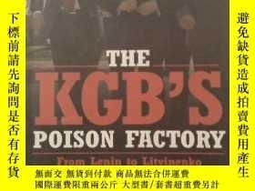 二手書博民逛書店THE罕見KGB S POISON FACTORY克格勃的毒工廠