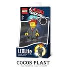 樂高鑰匙圈 樂高玩電影 大總裁 商業總裁 黑心商人 人偶造型LED 鑰匙圈鎖圈 盒裝 COCOS LG320