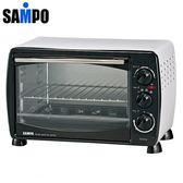 ★展示機出清品★SAMPO 聲寶 19公升 中型烤箱 KZ-HF19 **免運費**