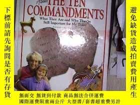 二手書博民逛書店I罕見Want to Know About THE TEN COMMANDMENTS 我想知道這十條戒律。(11奇