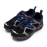 LIKA夢 LOTTO 多功能戶外休閒運動水陸兩用鞋 探索山林系列 黑灰藍 2006 男