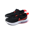 NIKE AIR ZOOM ARCADIA 運動鞋 魔鬼氈 黑/橘紅 中童 童鞋 CK0714-003 no028