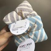 yodoxiui日本毛巾2條套裝情侶毛巾吸水速乾純棉毛巾擦髮 毛巾