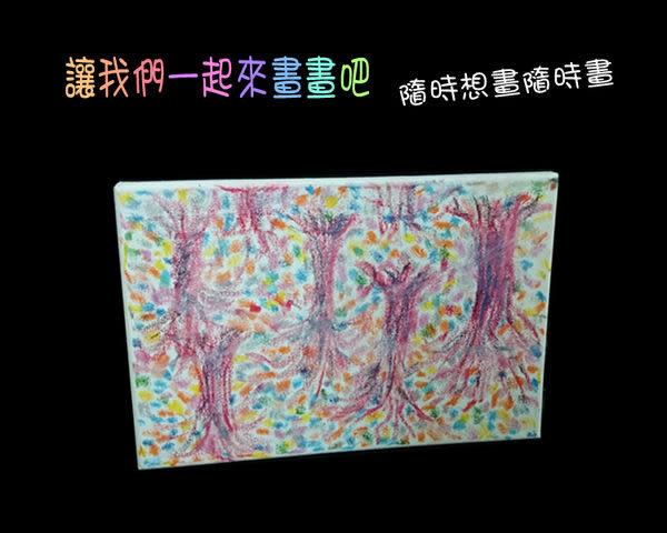 空白油畫板  A4白畫布板(23X30公分)