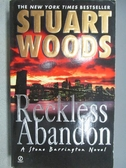 【書寶二手書T6/原文小說_MRS】Reckless Abandon_Stuart Woods