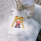 童裝夏裝女童棉睡衣背心短褲公主套裝兒童可愛卡通家居服空調服薄