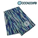 COOLCORE CHILL SPORT 涼感運動巾 海洋藍 BRUSH OCEAN (涼感運動毛巾、降溫、運動、運動巾)