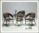 {{ 海中天休閒傢俱廣場 }} G-39 摩登時尚 戶外系列 285-3 449型圓桌(不含椅)