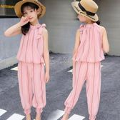 女童套裝 女童夏裝套裝新款中大童12韓版時尚13女孩時髦洋氣15歲潮衣服 俏女孩