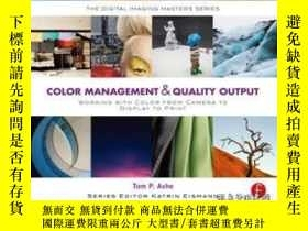 二手書博民逛書店Color罕見Management & Quality Output: Working With Color Fr
