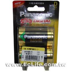國際牌新一代鹼性1號電池(2顆裝)