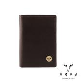 【VOVA】  費城系列3卡名片夾(煙草棕)VA118W010BR