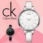 CK 手錶專賣店 K2B23101K2B23102 女錶 弧形彎曲錶面 白面 玫瑰金 石英 礦物抗磨玻璃