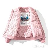 秋冬季加厚棉衣外套男女韓版潮流空軍飛行員夾克男刺繡棒球棉服潮