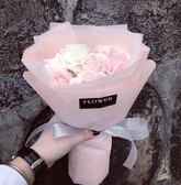 手捧花玫瑰花生日禮物畢業禮品精致【不二雜貨】