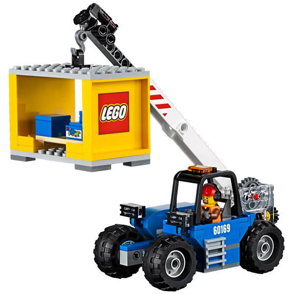 【LEGO樂高】 CITY 貨運站 60169