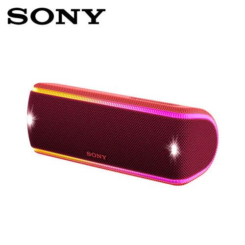 SONY SRS-XB31-R NFC/藍芽 防水隨身喇叭 紅色