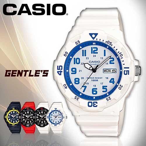 CASIO手錶專賣店 卡西歐  MRW-200HC-7B2 男錶 潛水造型指針 日期星期 防水100米 橡膠錶帶