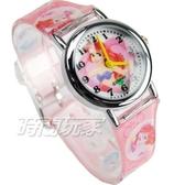 Disney 迪士尼 華特 日本機芯 小美人魚 童話公主 卡通手錶 兒童手錶 粉紅 D美人魚-4