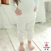 Anny pepe 兒童舒暖棉夾棉長褲 白色 (90~150cm)_男女童均適用