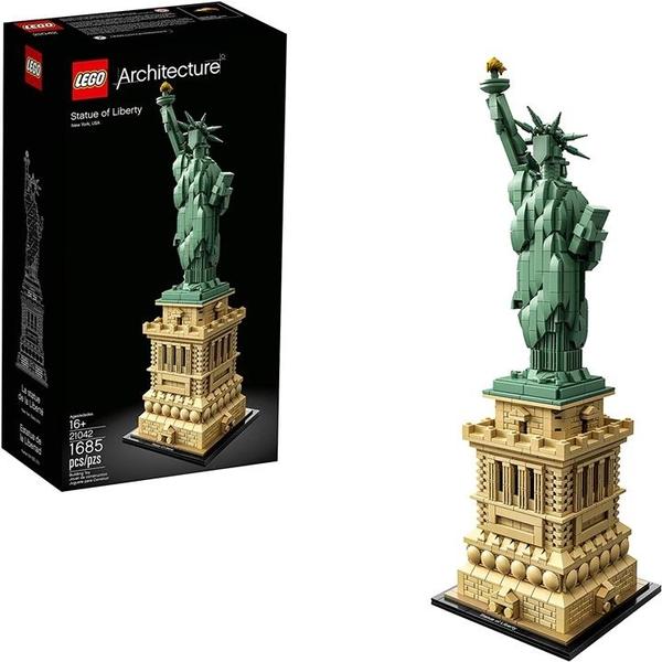 LEGO 樂高 建築自由女神像21042 (1685件)