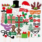 聖誕節 派對 創意 拍照道具 聖誕老公公 聖誕老人 聖誕樹 造型 面具 館長推薦