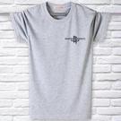 夏季中年男士短袖T恤純棉圓領寬鬆休閒中大尺碼辦款半袖爸爸裝父親裝