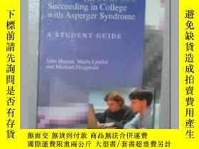 二手書博民逛書店【英文原版書】罕見Succeeding in College [