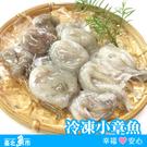 【台北魚市】冷凍小章魚 330g (包冰率30%)