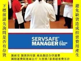 二手書博民逛書店Servsafe罕見Manager Revised (6th E