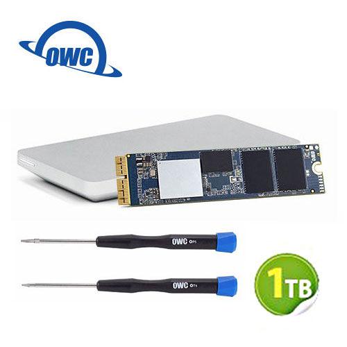 OWC Aura Pro X2 1.0TB NVMe SSD 完整升級套件 含工具及Envoy Pro外接盒 (OWCS3DAPT4MB10K)