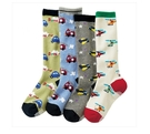 【韓風童品】(4雙/組)男寶寶防滑中筒襪 兒童棉襪 點膠防滑襪子  嬰幼兒中高筒襪子 男童襪子