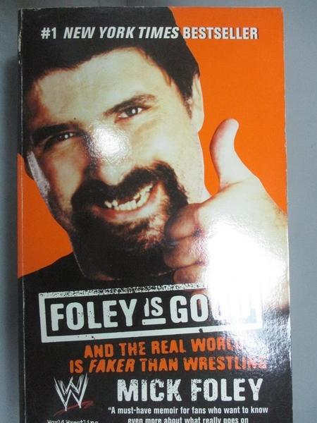 【書寶二手書T5/原文小說_CMG】Foley Is Good: And the Real World Is Faker