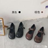 娃娃鞋南在南方 日系復古可愛軟妹jk小皮鞋瑪麗珍大頭娃娃鞋ins學生單鞋 伊蒂斯
