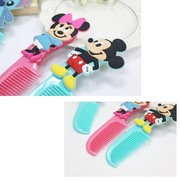 ☆小時候創意屋☆迪士尼 正版授權 立體梳子 造型梳子 隨身梳子 扁梳 美髮梳 婚禮小物
