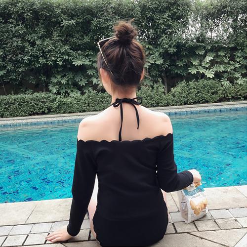 [超豐國際]比基尼泳衣女小胸聚攏溫泉bikini分體三件套長1入