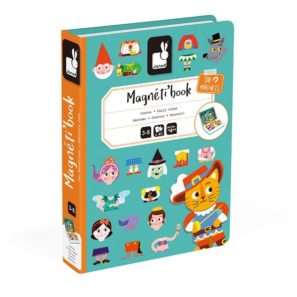 【法國Janod】磁鐵遊戲書-童話故事