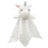 【美國Elegant Baby】嬰兒安撫巾-純白獨角獸 87726