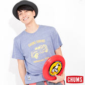 CHUMS 日本 男 Tow Truck 短袖T恤 Triblend 霧藍 CH011024A009