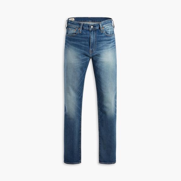Levis 男款 上寬下窄 512 低腰修身窄管牛仔褲 / 抓鬚刷破 / Flex彈力機能布料 / 天絲棉