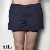 【BTIS】彈性休閒短褲 / 丈青色