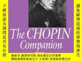 二手書博民逛書店【罕見】The Chopin Companion: Profiles Of The Man And The Mus