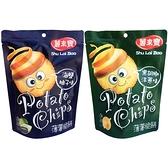 薯來寶 馬鈴薯薄餅(80g) 海鹽柚子/黑胡椒洋蔥 款式可選【小三美日】