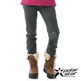 【PolarStar】女 內刷毛保暖長褲『炭灰』P20420 戶外│休閒│登山│露營│刷毛│冬季│禦寒│保暖
