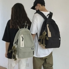 日系原宿簡約休閒帆布書包男時尚潮流韓版高中大學生雙肩包揹包女 父親節特惠