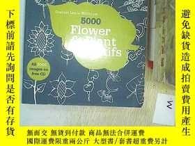 二手書博民逛書店5000罕見Flower and Plant MotifsY20