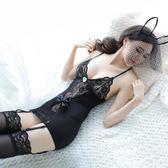情趣內衣性感開檔緊身透視裝套裝兔女郎女傭激情蕾絲空姐制服sm騷【快速出貨八折優惠】