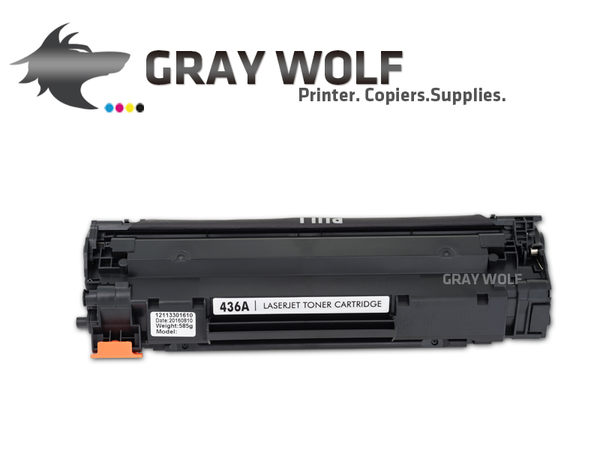 【速買通】HP CB436A/436A/436/36A 相容環保碳粉匣 適用LJ P1505/M1522/M1120