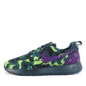 WMNS Nike Roshe One PREM Plus [807614-453] 女鞋 運動 休閒 綠 紫